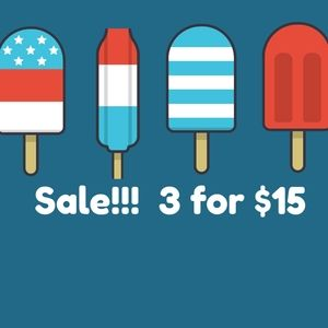 Summer Sale!  3 items for $15